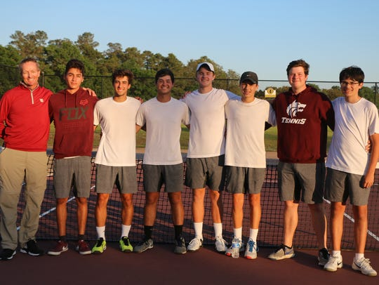 Chiles' boys tennis team won a 4-3 match at Niceville