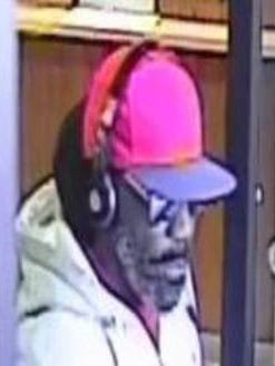 Rochester police are looking for this man in connection with a bank robbery at the Chase Bank on Genesee Street on Wednesday.