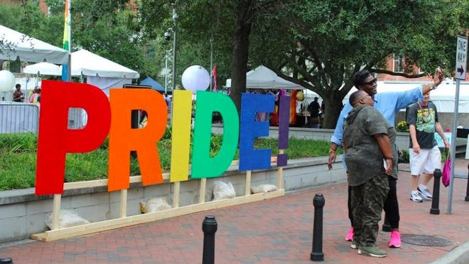The 20th anniversary of the Savannah Pride Festival held in October.