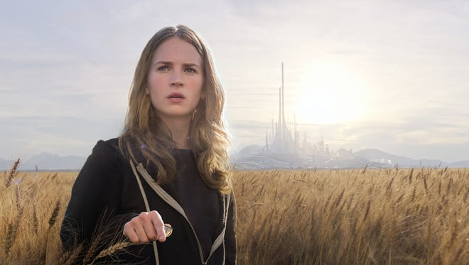 Britt Robertson plays a curious and idealistic teen in 'Tomorrowland.'
