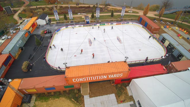 The Riverfront Rink in Wilmington opens its fourth season on Friday at 11 a.m.