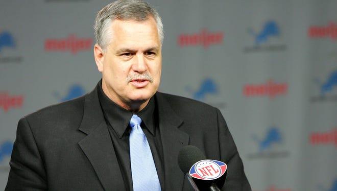 The Lions went 31-84 under Matt Millen's leadership from 2001-2008.