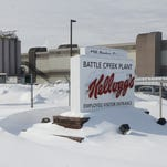 Kellogg Co.'s Battle Creek cereal plant, opened in 1988, is one of four in the U.S. The company said last month it would soon close at least one plant.