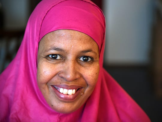 Nasteho Garad and her husband Biriye Osman cared for their blind, deaf and paralyzed nephew in a Kenyan refugee camp before being accepted for immigration into the United States. The extended family now lives in St. Cloud.