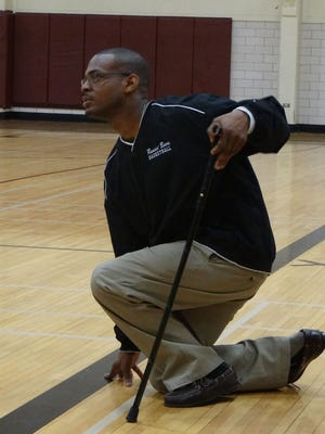 Karl Turk coaches basketball at West Oso High School in Texas.