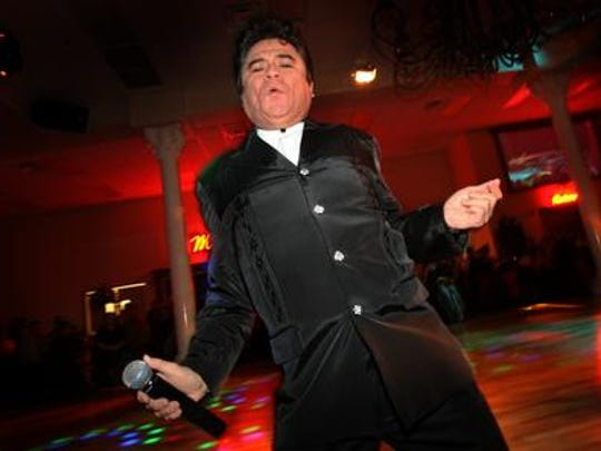 Juan Gabriel impersonator and comedian Hugo Cortez performs in 2009. He will perform Sunday at San Jacinto Plaza in Downtown El Paso.