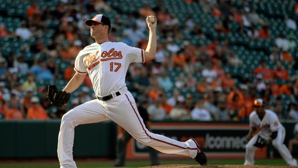 Aug 23, 2015; Baltimore, MD, USA; Baltimore Orioles