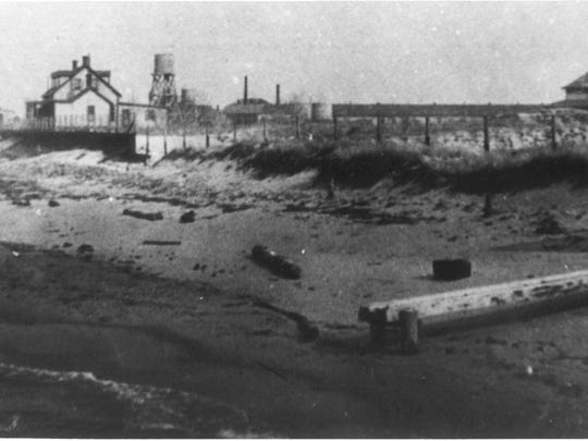 The Delaware Breakwater Quarantine Station was located at Cape Henlopen State Park.