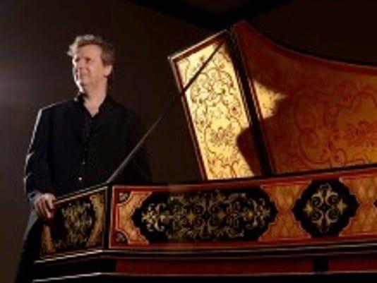 Harpsichordist Carsten Schmidt,
