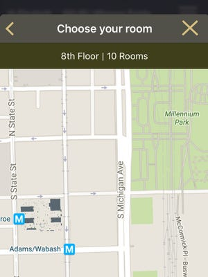 Hilton's frequent guests will be able to see exactly where their rooms are in relation to streets and other markers via Google Maps on the HHonors mobile app.