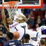 Wayne Selden Jr. and Kansas will arrive in Louisville the NCAA tournament favorite.