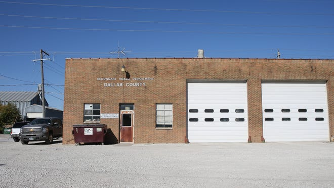 The secondary roads department building in Adel could be demolished if voters approve a proposal to build an administrative facility near the Raccoon River Valley Trail.