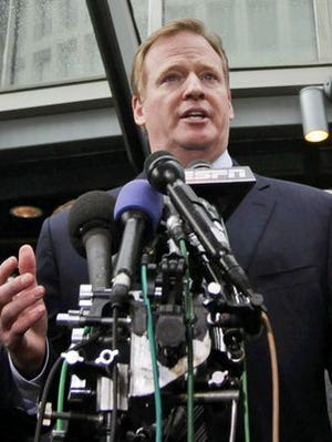 NFL commissioner Roger Goodell doesn't have great odds of being the commissioner in the 2015-16 season.