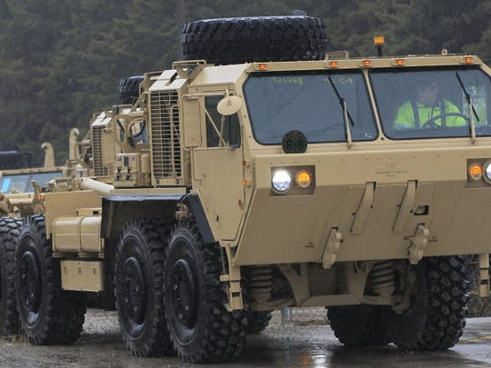 Military vehicle manufacturing at Oshkosh has sustained thousands of Wisconsin jobs in recent years.