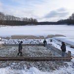 Construction of new boat ramp at Charles Mill Lake Marina underway