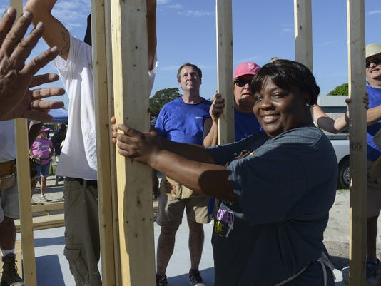 Habitat for Humanity Wall Raisin