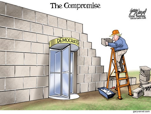 What would a compromise look like between President