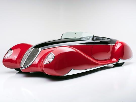 "The 1938 Coddington V12 Hemi ""The French Connection,"""