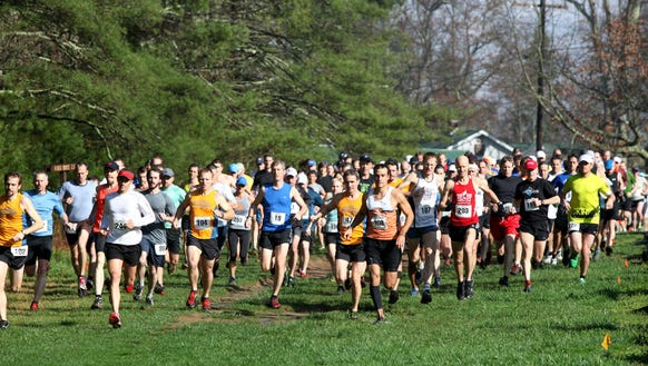 The Dupont Forest 12K Trail Race is March 25 in Dupont