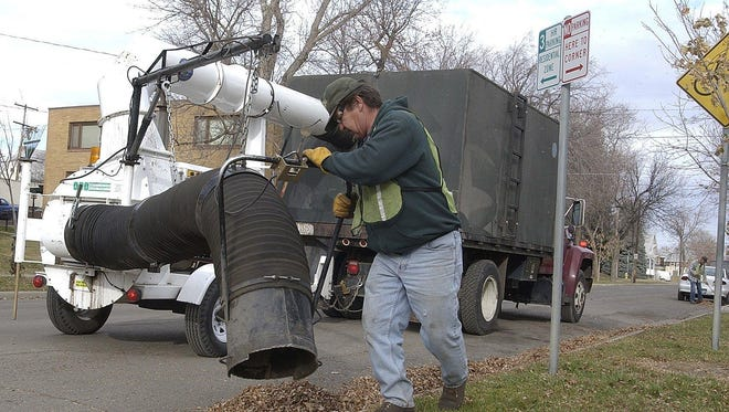Leaf pickup in Great Falls' Boulevard District begins Monday, Oct. 21, and runs through Wednesday, Nov. 6. Check the city's website for the shedule.
