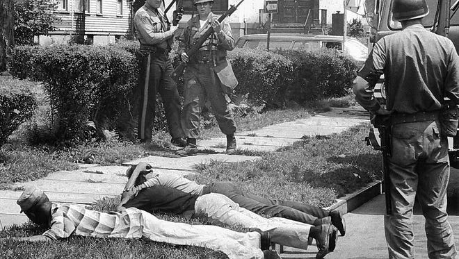 A bloody riot inflicted physical and psychological damage to Plainfield during a disastrous week in July 1967.