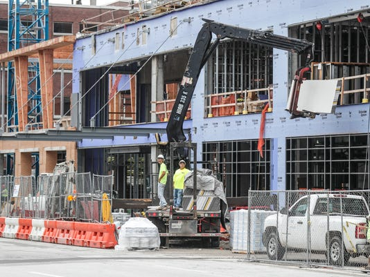 Developers are building many new projects through out Indianapolis.