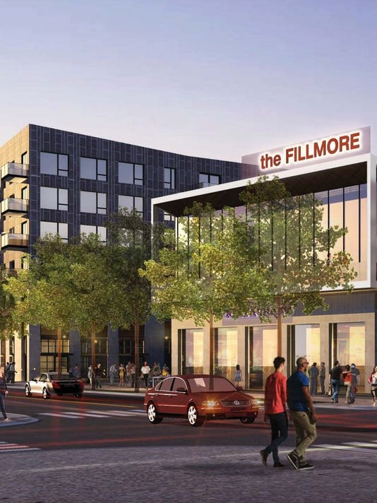 The Fillmore renderings