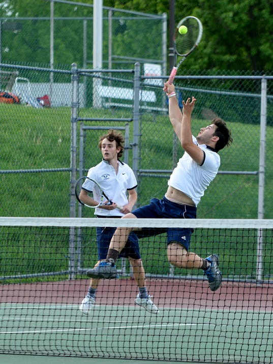 York-Adams League boys doubles tennis
