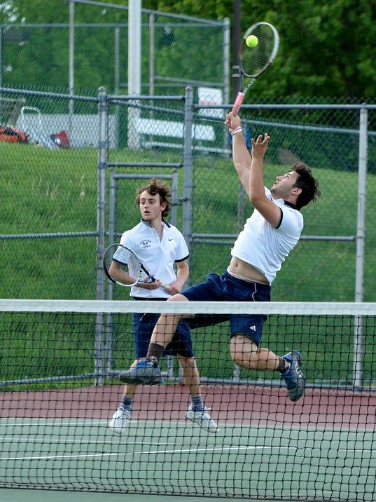 York-Adams League boys doubles tennis