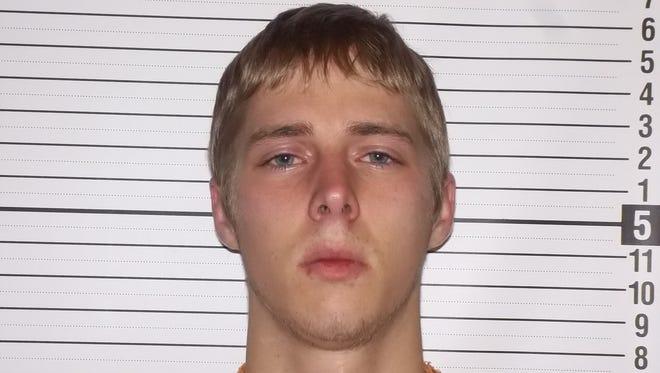 Brian K. Delawder II, 21, of Marion