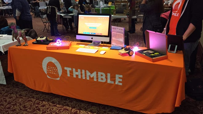Thimble co-founders attended upstate New York makerspace events.