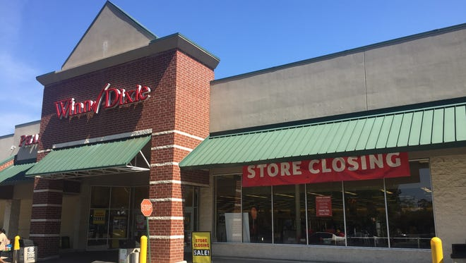 In this file photo, the Winn-Dixie on Paul Russell Road closes.