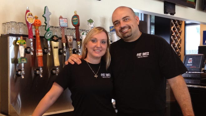 Krista and Gregg Buell of Fat Katz are opening Skinny Dogz in Gateway.