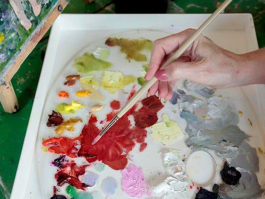 art painter palette