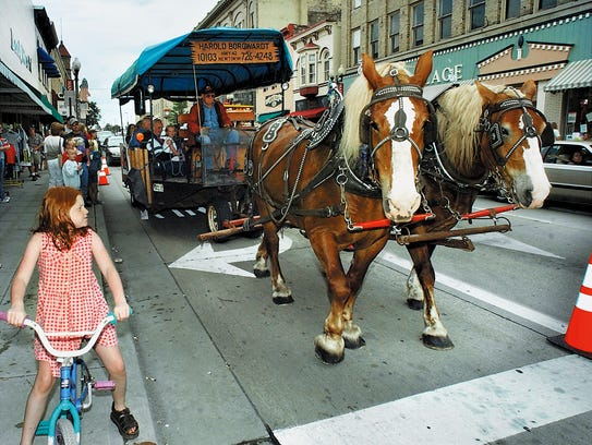 Krazy Daze hosts horse and carriage rides.