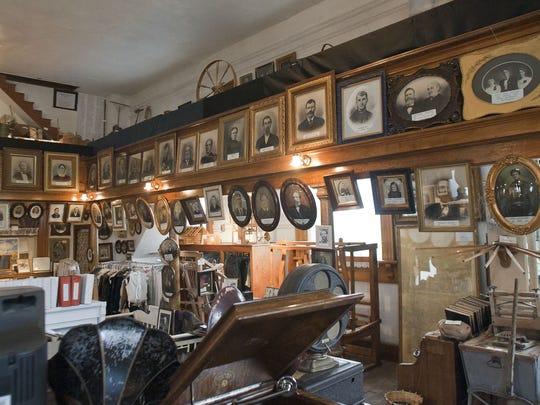 The Parowan Old Rock Church Museum houses thousands