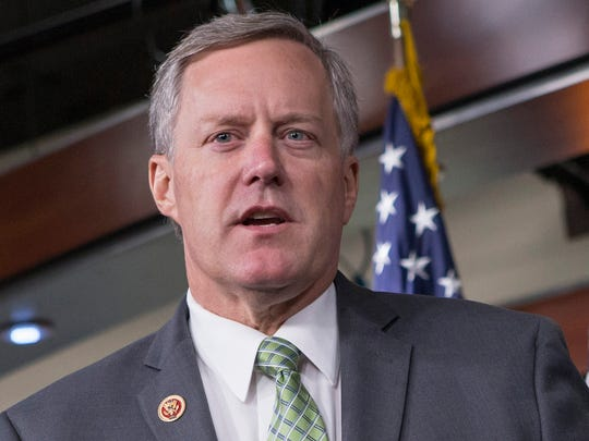 Rep. Mark Meadows, R-N.C., is pictured in 2013.