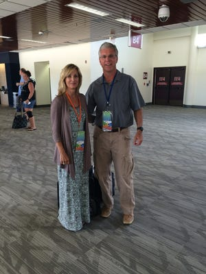 Tallahassee residents Dave and Deborah Curry are headed to the Olympic Games in Rio de Janiero.