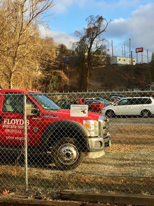 Floyd's Wrecker Services lot