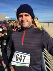 Features reporter Alex Biese at the Rook Run in Long Branch in 2014 .