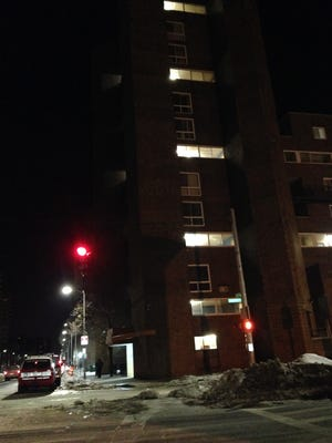 An apartment fire broke out in the early morning hours Friday on Riverdale Avenue in Yonkers.