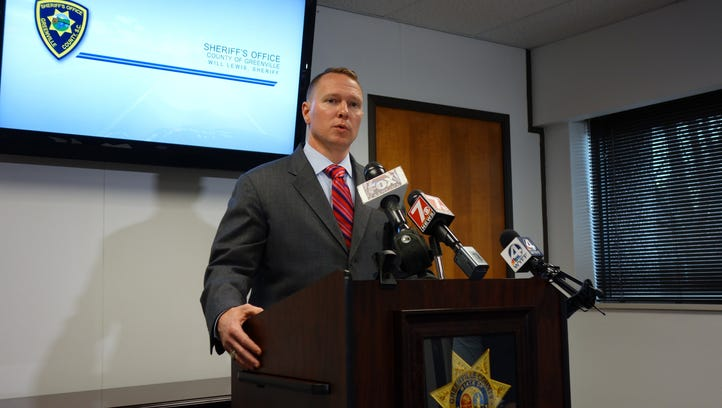 Greenville County Sheriff Will Lewis announced the arrest of two teens in connection to a deadly carjacking in the Judson community.