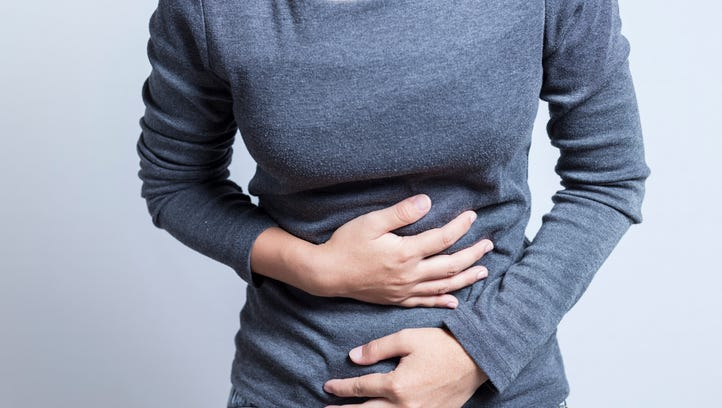 Colon cancer signs can include persistent cramps and