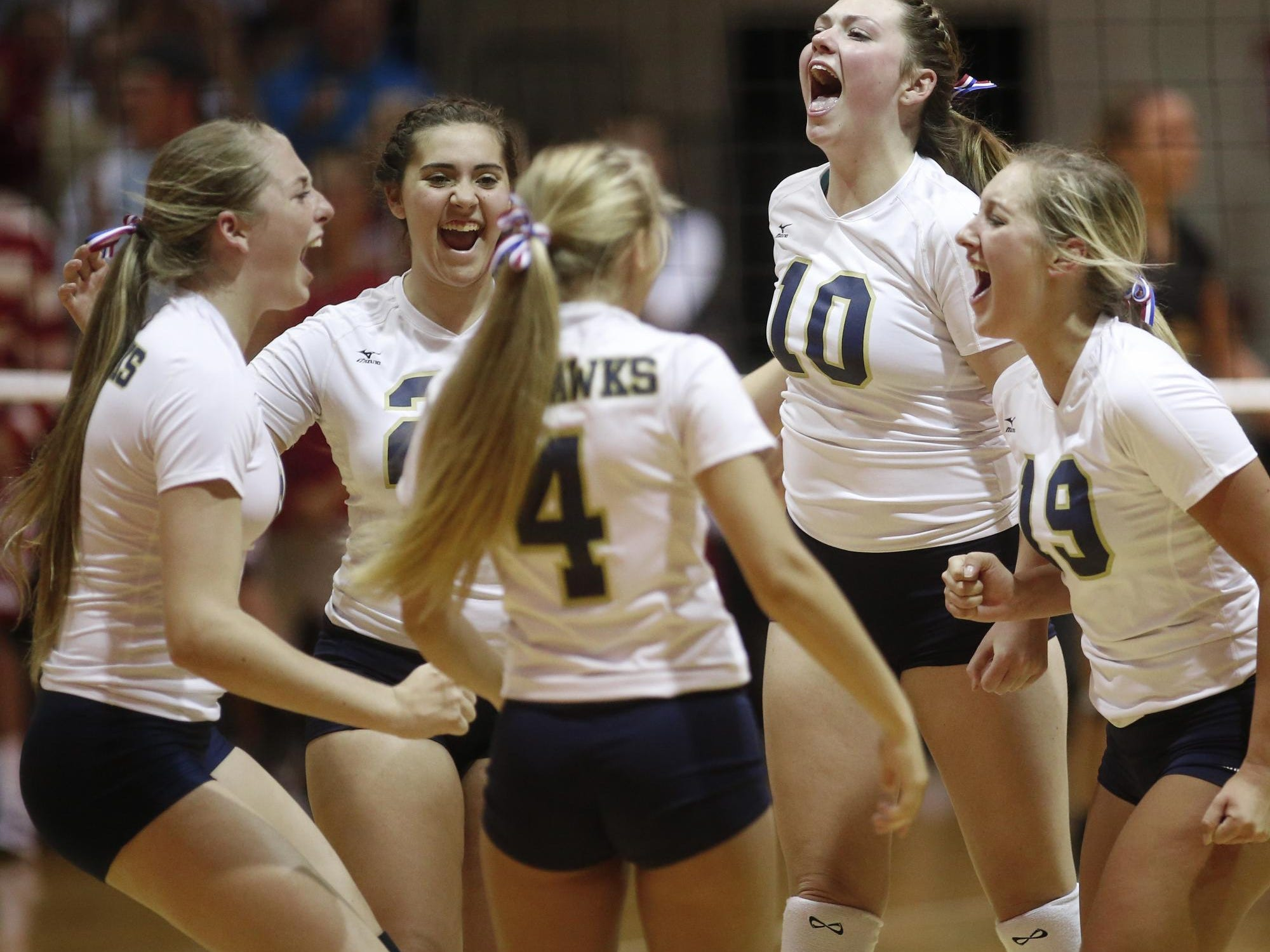 The Delaware Military Academy volleyball team pulled off a 3-1 victory against Padua on Thursday night.