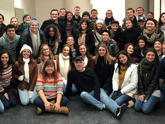 "During a recent trip to New York City, Port St. Lucie High School students  met with Broadway stars, including Michael Rupert, Tony Award winner for ""Sweet Charity"" and the original lead in ""Falsettos""; Gavin Lee, Tony Award nominee for ""Mary Poppins"" and the star of ""SpongeBob, the Musical""; Heather MacRae, Broadway star of ""Falsettos"" and ""A Catered Affair""; Sharone Sayegh, currently in ""A Band's Visit"" on Broadway; Janet Metz, narrator in the Canadian version of ""Joseph and the Amazing Technicolor Dreamcoat."""