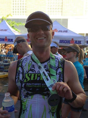 St. George resident Lyle Anderson will be returning to competition in a full-length Ironman on the first anniversary (plus one day) of a serious car crash that left him with several broken bones and eye damage.