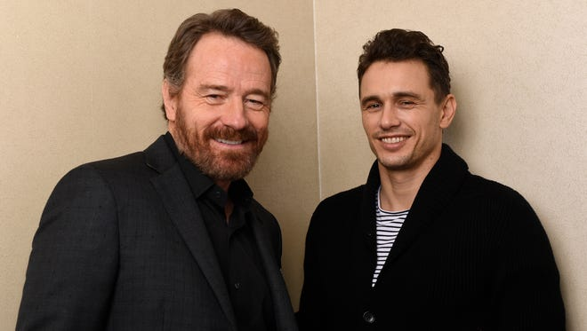 Bryan Cranston and James Franco star in the new R-rated holiday comedy, 'Why Him?'