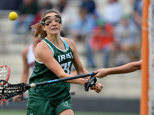 Susquehannock vs York Catholic York-Adams girls' lacrosse semifinals