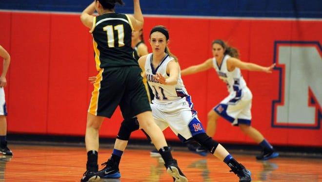 Madison sophomore Brooke Vilcinskas.