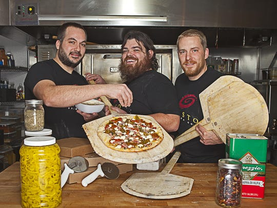 Tony Lemmo, Joe McConville and Josh Holderness opened third first Gusto Pizza on Ingersoll Avenue in 2011. They have since expanded to West Des Moines and this month to Johnston.